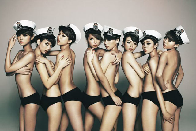 Be Ppin Is A Japanese All Girl Octet That Consists Entirely Of Fashion Models From The Popular Japanese Magazine Blenda They Made Their Musical Debut At