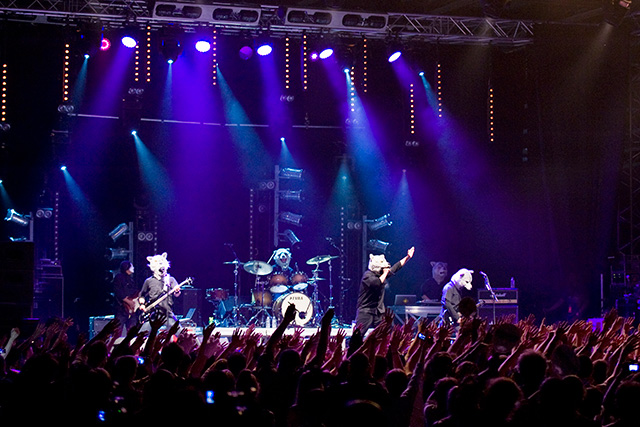 MAN WITH A MISSION / First Stage at JAPAN EXPO with Audience of 5000