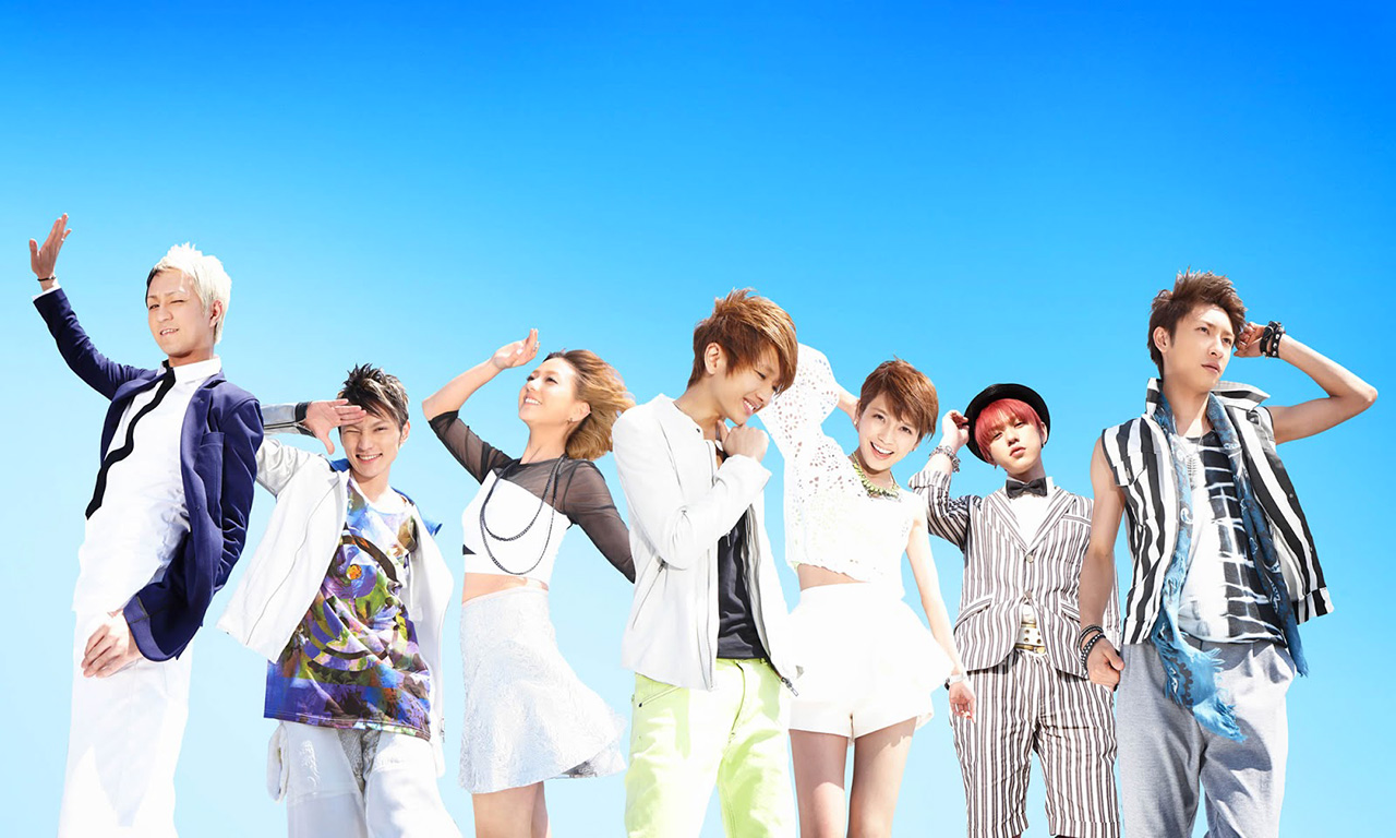 cover artwork and mv for 2013 aaa style summer tune love is in