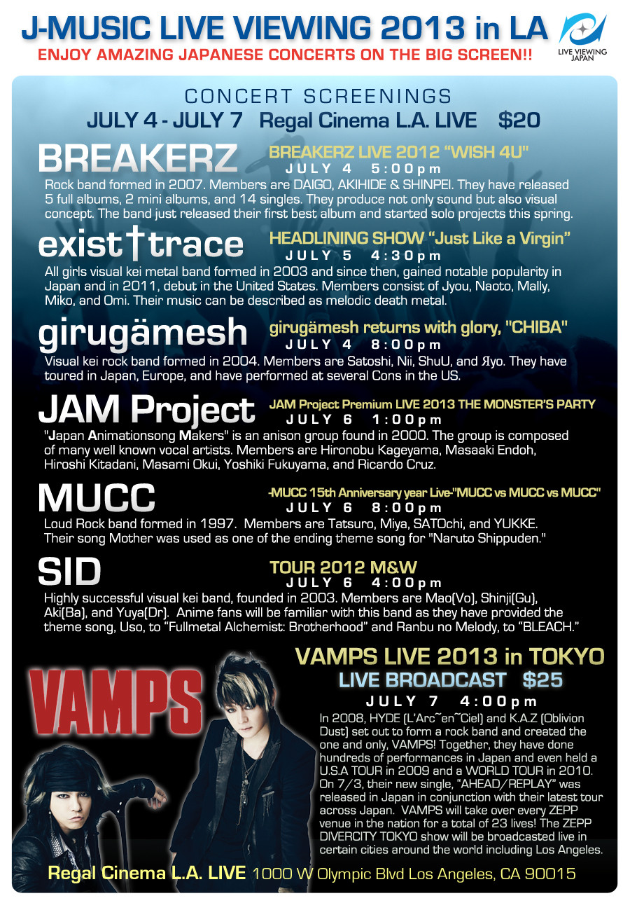 exist-trace J-Music-Live-2013-poster