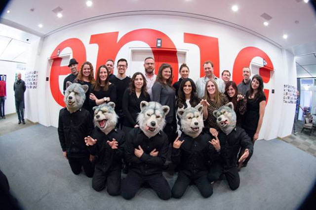 MAN WITH A MISSION inks with E...