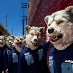 "MAN WITH A MISSION was nominated as a ""wild card"" candidate for the ""2014 MTV EMA"", Europe..."