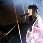 miwa's first overseas concert - 100 middle school and high school students affected by the...