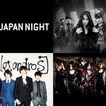 """JAPAN NIGHT"" Goes Overseas! Featuring VAMPS, the_GazettE, [Alexandros] and others!"