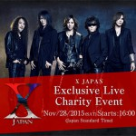 X JAPAN's Earth Quake Relief to be Live-streamed on Nico Nico Live