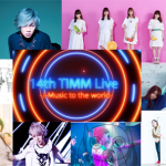 14th Tokyo International Music Market (14th TIMM) Showcase live will be broadcasted in 6 c...
